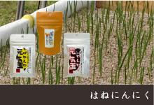 農薬不使用で安心・安全で、栄養価が高く臭いが残らない「はねにんにく」