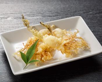 はねにんにくの天ぷら