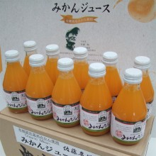 有機温州みかんジュース 200ml×10茶箱梱包
