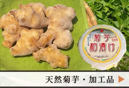 佐賀県産 天然菊芋・加工品