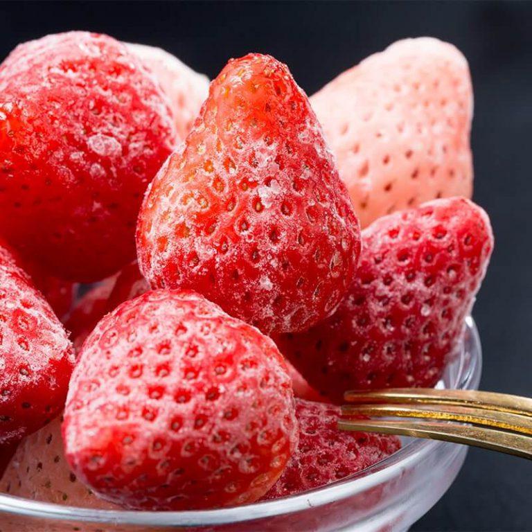 冷凍イチゴ ミックス (さがほのか・淡雪・真紅の美鈴)